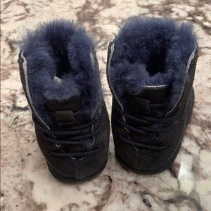 UGG Shoes - UGG Navy Baby/Toddler shoes